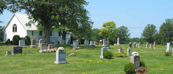 Photo - St. John's Matchedash Anglican Cemetery